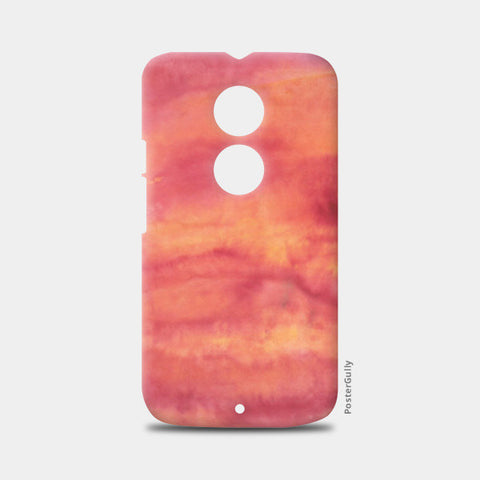 Orange Gradient Moto X2 Cases | Artist : Ankita Sharma