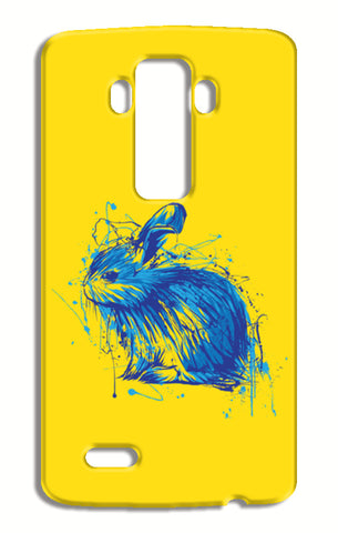 Rabbit LG G4 Cases | Artist : Inderpreet Singh