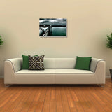 Canvas Art Prints, Dark Clouds And Sea Stretched Canvas Print, - PosterGully - 3