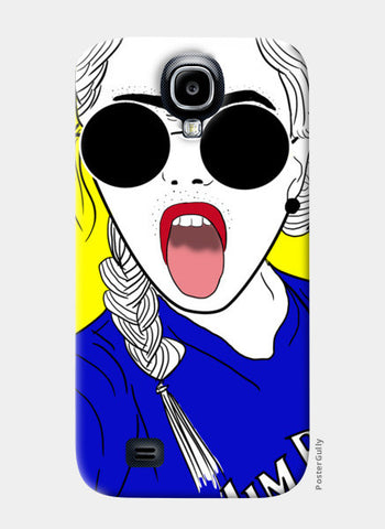 Girl swag! Samsung S4 Cases | Artist : DISHA BHANOT