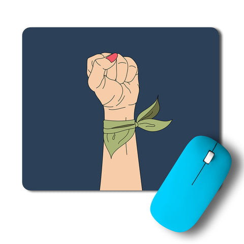 Woman Strenght Minimal Artwork Mousepad