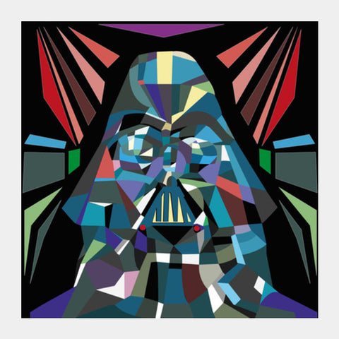 Disco Vader Square Art Prints | Artist : soumik parida