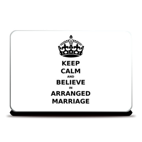 Laptop Skins, Keep Calm - Arranged Marriage Laptop Skin | Artist : Sara, - PosterGully