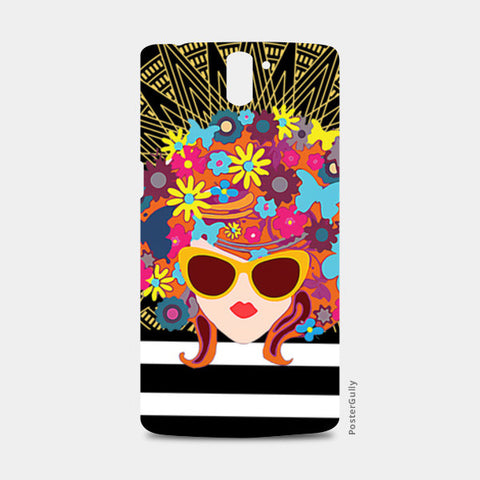 Butterfly Girl One Plus One Cases | Artist : Design_Dazzlers