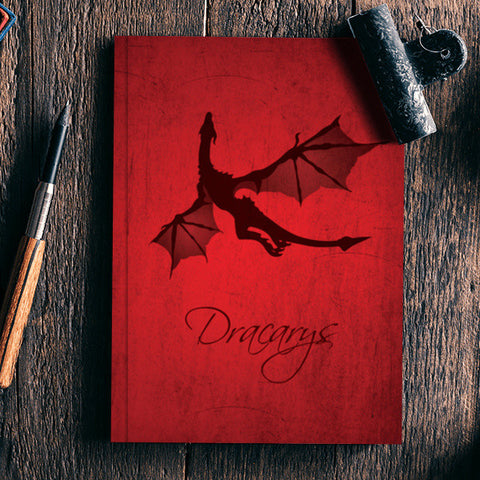 Dracarys Game of Thrones Notebook | Artist : Kshitija Tagde