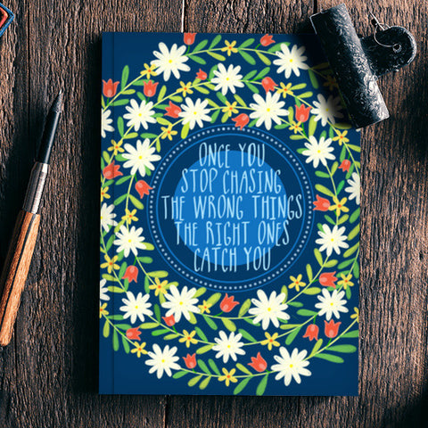 MOTIVATIONAL QUOTE Notebook | Artist : Paper Pankh