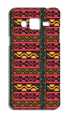 Abstract geometric pattern african style Samsung Galaxy J3 2016 Cases | Artist : Designerchennai