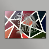 Confidence | Abstract  Metal Prints | Artist : Nandini Rawat