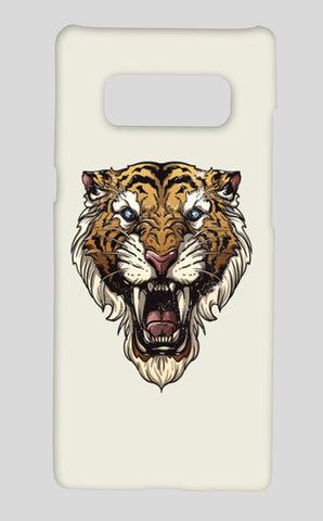Saber Toothed Tiger Samsung Galaxy Note 8 Cases | Artist : Inderpreet Singh