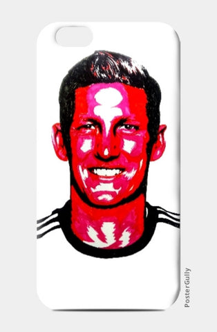 iPhone 6 / 6s, Bastian Schweinsteiger iPhone 6 / 6s Case by Kislaya Sinha, - PosterGully