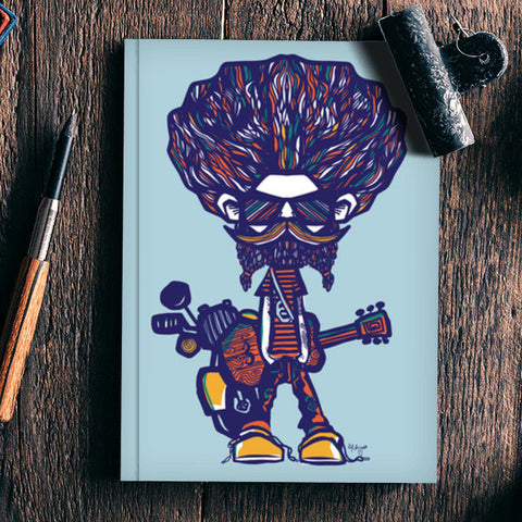 musical guy Notebook | Artist : abhijeet sinha
