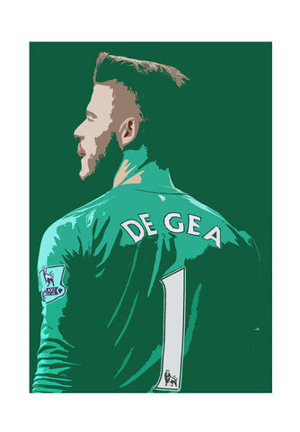 David De Gea Wall Art | Artist : Namit Halakhandi