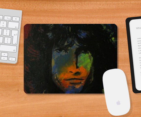The Doors Jim Morrison Mousepad | Artist : Rohan Jayant