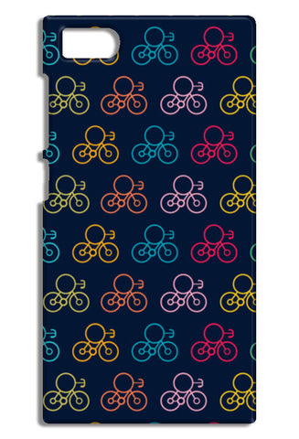 Bicycle Wheels With Colored Mi3-M3 Cases | Artist : Designerchennai