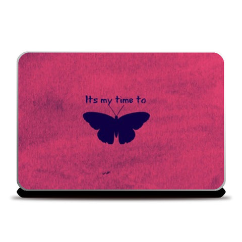 Its my time to FLY Laptop Skins | Artist : Pallavi Rawal