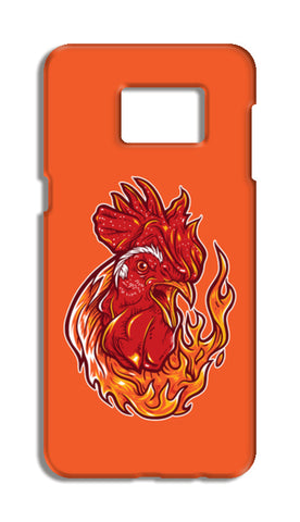 Rooster On Fire Samsung Galaxy S6 Edge Plus Cases | Artist : Inderpreet Singh