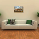 Canvas Art Prints, Over Hillsides Stretched Canvas Print, - PosterGully - 3