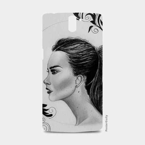 black and white One Plus One Cases | Artist : Arathy Nair