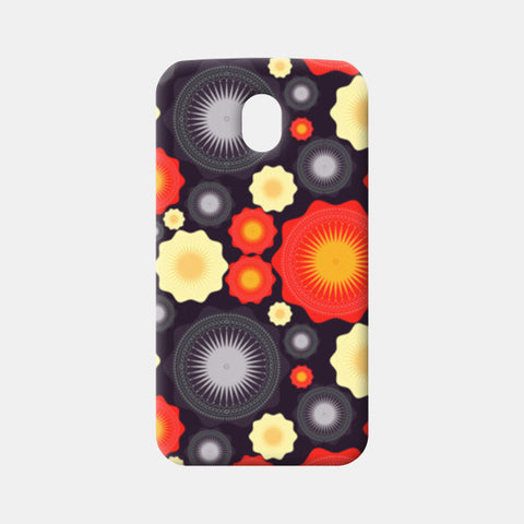 Geometric object pattern illustration Moto G3 Cases | Artist : Designerchennai