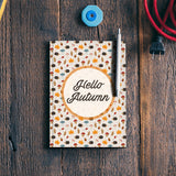 hello autumn Notebook | Artist : DISHA BHANOT