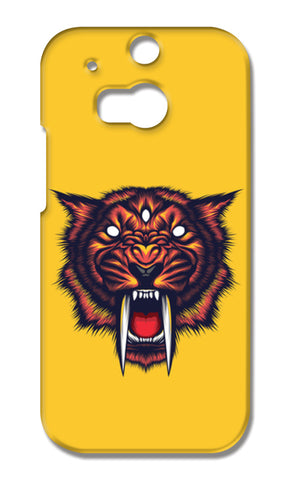 Saber Tooth HTC One M8 Cases | Artist : Inderpreet Singh