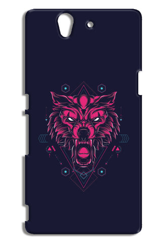 The Wolf Sony Xperia Z Cases | Artist : Inderpreet Singh