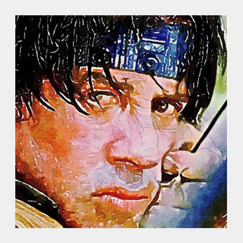 Rambo Square Art Prints PosterGully Specials