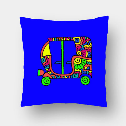 Cushion Covers, Rickshaw Zenscrawl Cushion Cover | Meghnanimous, - PosterGully