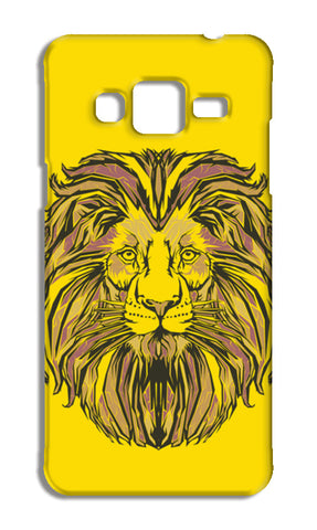 Lion Pop Samsung Galaxy J3 2016 Cases | Artist : Inderpreet Singh