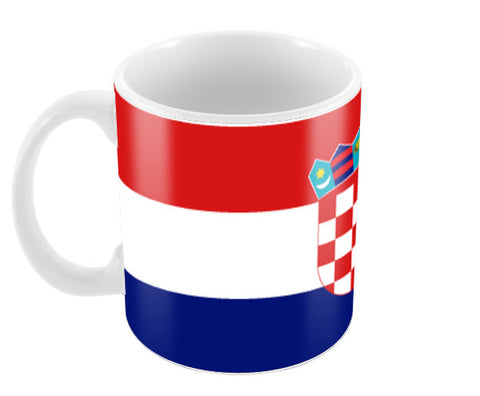 Croatia | #Footballfan Coffee Mugs | Artist : Creative DJ