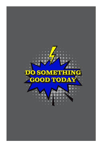 PosterGully Specials, Pop Art- Do Something Good Today Wall Art | Artist : Stuti Bajaj, - PosterGully