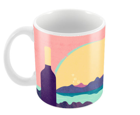Wine Country Coffee Mugs | Artist : Deepikah Bhardwaj