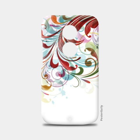 Moto X2 Cases, Floral Abstract Moto X2 Case | Artist : Gagandeep Singh, - PosterGully