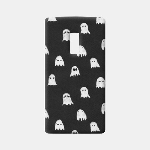 CUTE GHOST One Plus Two Cases | Artist : Naman Kapoor
