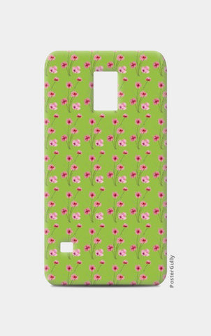 Samsung S5 Cases, Lime Green Floral Girly Pattern  Samsung S5 Cases | Artist : Seema Hooda, - PosterGully