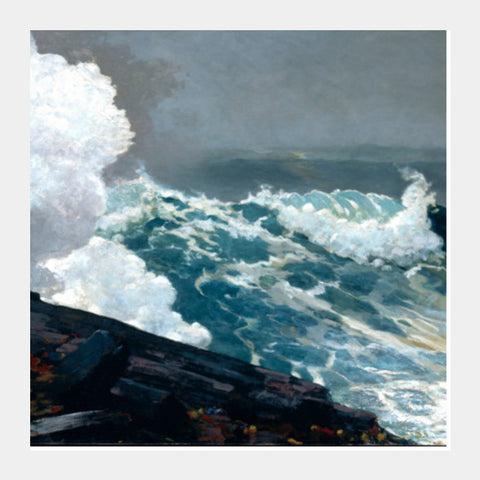 Northeaster By Winslow Homer Square Art Prints PosterGully Specials