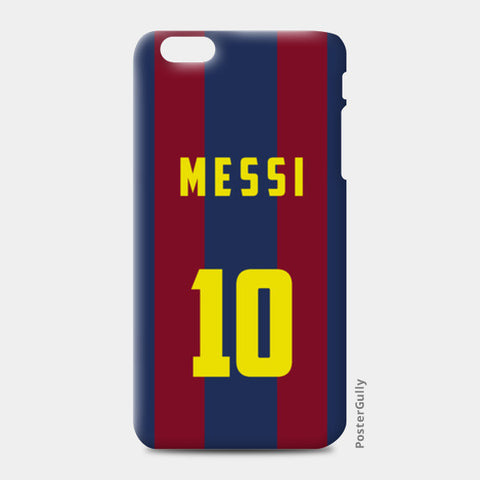 FOOTBALL- MESSI iPhone 6 Plus/6S Plus Cases | Artist : Naman Kapoor