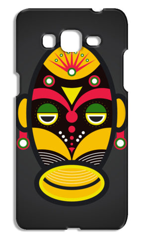 African Traditional Tribal Mask Samsung Galaxy Grand Prime Cases | Artist : Designerchennai