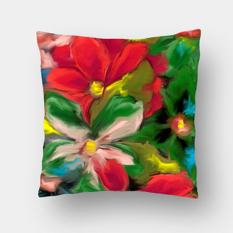 Cushion Covers, Flower Cushion Cover | Artist: prakash raman, - PosterGully