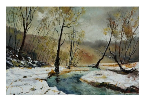 Wall Art, river hileau Wall Art  | Artist : pol ledent, - PosterGully