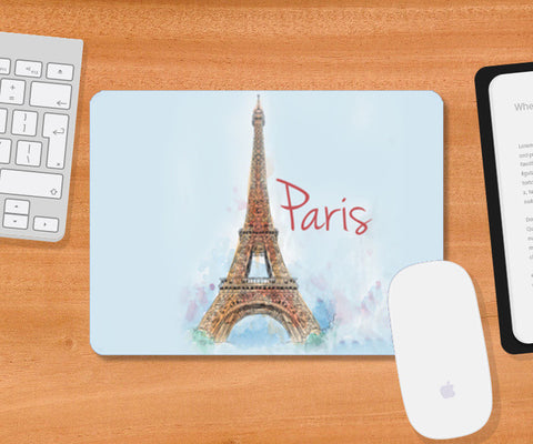 Mousepad, Love From Paris Mousepad | Artist : Pranit Jaiswal, - PosterGully