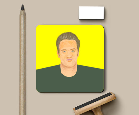 Coasters, Chandler Bing  Friends Coaster | Gagandeep Singh, - PosterGully