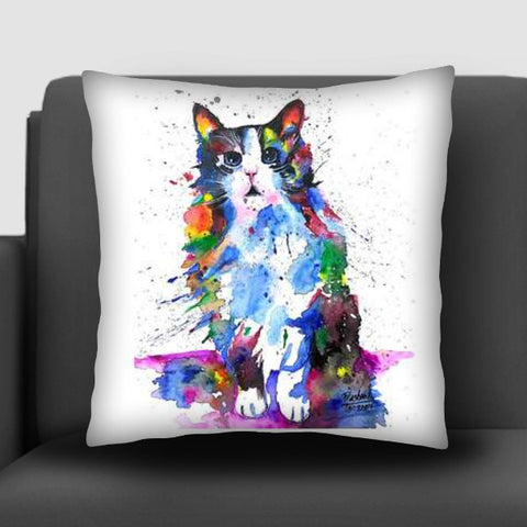 CLARITY | ARTWORK | CAT  Cushion Covers | Artist : Prashant Singh