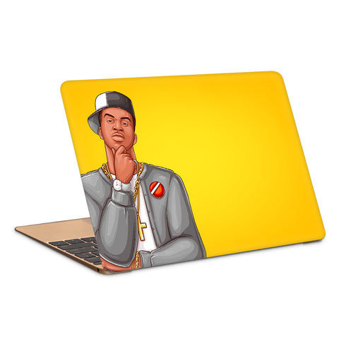 Pop Art Rap Hip Hop Character Laptop Skin