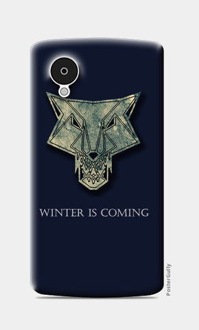 winter is coming Nexus 5 Cases | Artist : Nazria Banu
