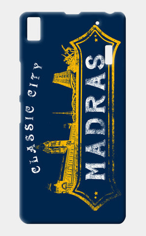 Classic City Madras | Mobile Cases Lenovo A7000 Cases | Artist : Ramkumar Kolappan