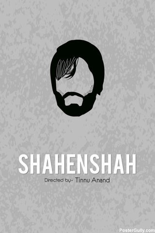 Brand New Designs, Shahenshah Artwork | Artist: Rohit Kumar, - PosterGully - 1