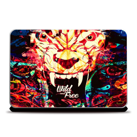Laptop Skins, Wild And Free Laptop Skin | Artist: Pankaj Bhambri, - PosterGully