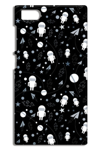 Astronaut black and white Mi3-M3 Cases | Artist : Designerchennai