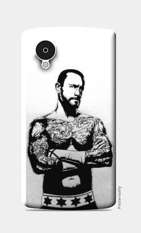 Nexus 5 Cases, CM Punk Nexus 5 Case by Kislaya Sinha, - PosterGully